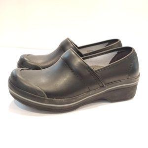 Dansko womens shoes size 37 black leather